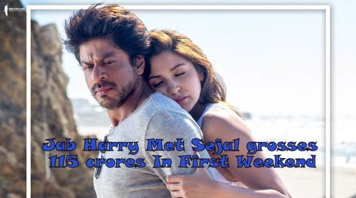 Jab Harry Met Sejal First Weekend Collection: Grosses 100 Crores Worldwide