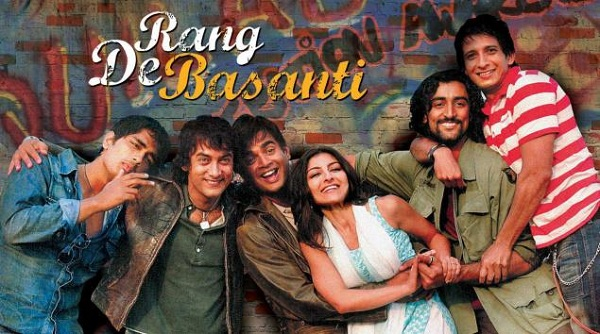 best bollywood movies on independence day - Rang De Basanti