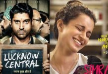 Box Office: Lucknow Central, Simran first Monday Collection Report