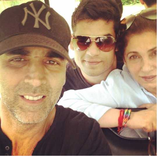 Karan Kapadia and Akshay Kumar