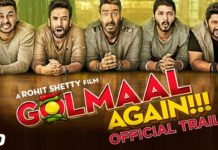 Golmaal Again Trailer Review: Ajay Devgn Is Back With His Gang Of Boys