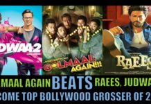 Golmaal Again 8th Day Collection, Beats Judwaa 2 And Raees To Become Top Grosser Of 2017