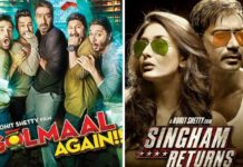 Golmaal Again Becomes Ajay Devgn's 9th Highest Grosser In Just 3 Days