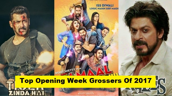 Top Opening Week Grossers Of 2017 | Highest Opening Week Collection Bollywood 2017