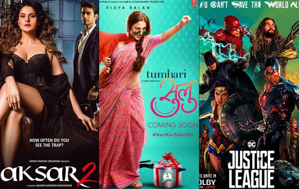 Aksar 2, Tumhari Sulu And Justice League Second Day Collection Report