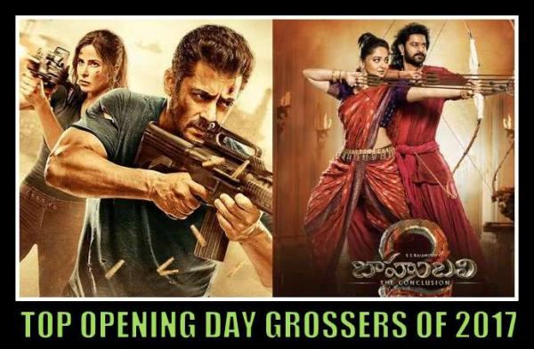 Top Opening Day Grossers Of 2017, Highest Opening Day Collection Bollywood 2017