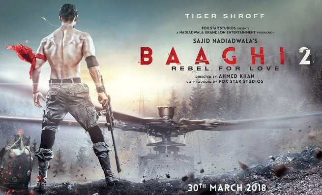 'Baaghi 2' release date announced as 30th March 2018