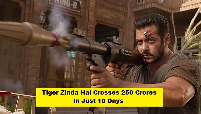 Tiger Zinda Hai crosses Rs. 250 crore mark
