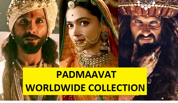 Padmaavat Worldwide Box Office Collection, Grosses 500 Crores