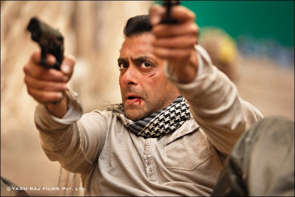 Salman Khan in a still from Ek Tha Tiger