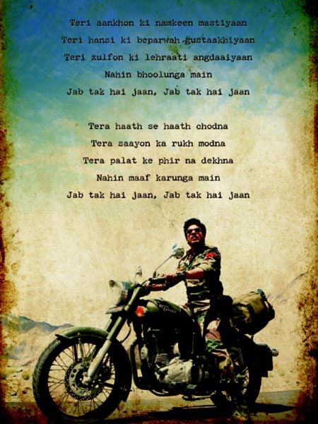 Jab tak hai Jaan Review