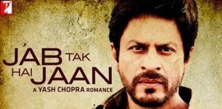 Jab Tak Hai Jaan Poster-SRK