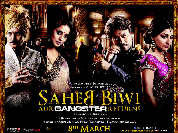 Saheb, Biwi aur Gangster Returns first look