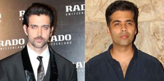 Hrithik Roshan and Karan Johar