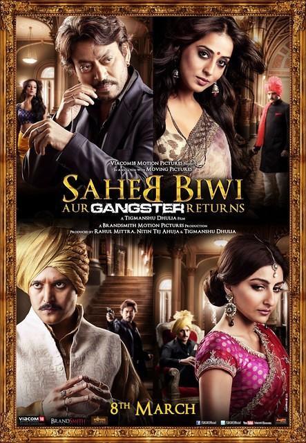 Saheb, Biwi aur Gangster Returns Poster