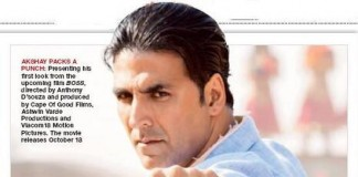 Boss Movie First look - Akshay Kumar