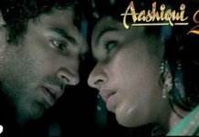 Aashiqui 2 movie poster - Shraddha and Aditya Kapoor