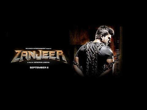 Zanjeer theatrical trailer feat Ram Charan Teja, Priyanka Chopra and Sanjay Dutt