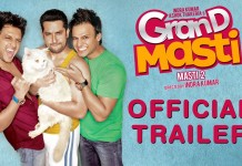 Grand Masti Theatrical Trailer Poster
