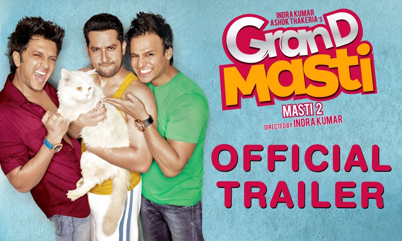 Grand Masti Theatrical Trailer