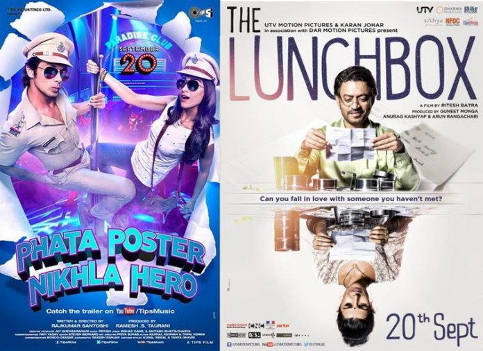 Phata Poster Nikala hero and The Lunchbox