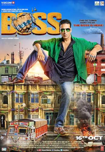 Boss Movie Review : Akshay's crappy senseless choice yet again