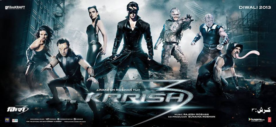 Krrish 3 Music Review : Below average affair