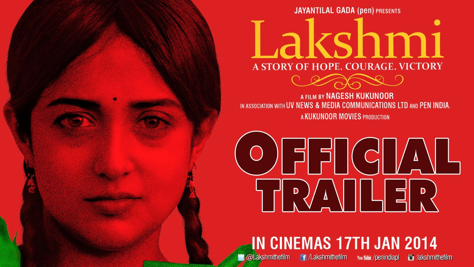 Theatrical Trailer – Lakshmi : A Movie For A Social Cause