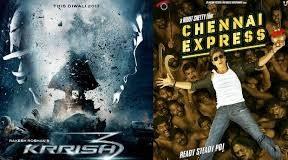Krrish 3 vs Chennai Express