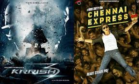 Krrish 3 Vs Chennai Express First 5 days Collection