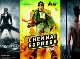 Krrish vs Chennai Express vs Ek Tha Tiger