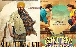 Singh Saab The Great vs Gori Tere Pyaar Mein : First week Box Office Collections