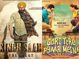 Movies This Weekend : Gori Tere Pyaar Mein and Singh Saab The Great