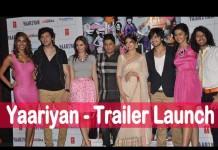 Yaariyan Trailer Launch event