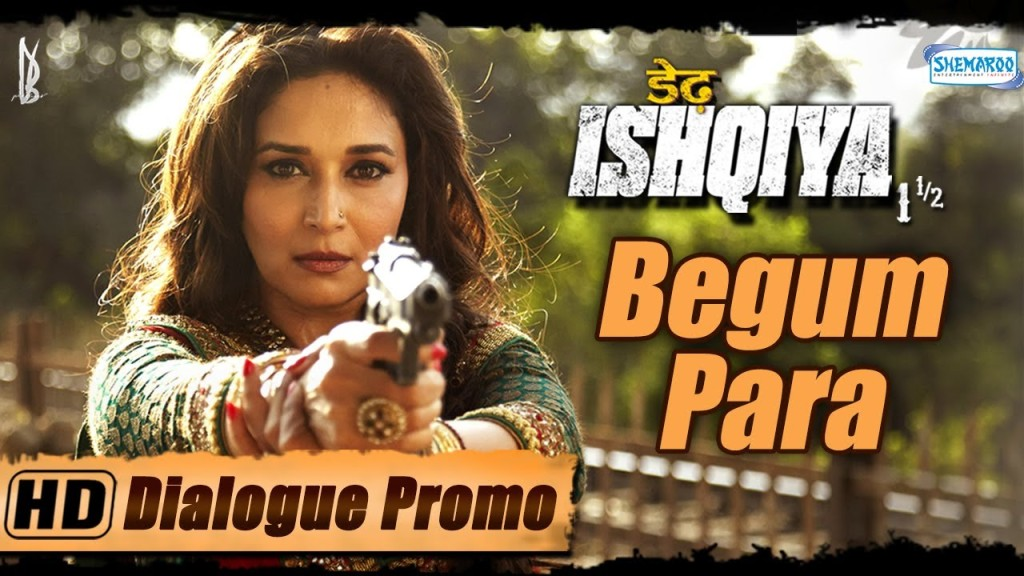 Madhuri Dixit Character Promo – Dedh Ishqiya | Theatrical Trailers