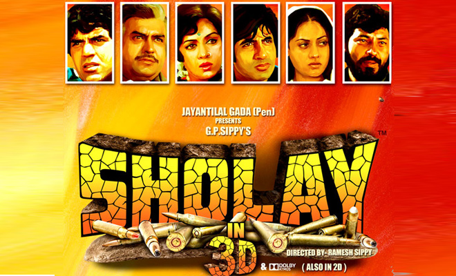 Theatrical Trailer Sholay 3D : Revisit Sholay in 3D