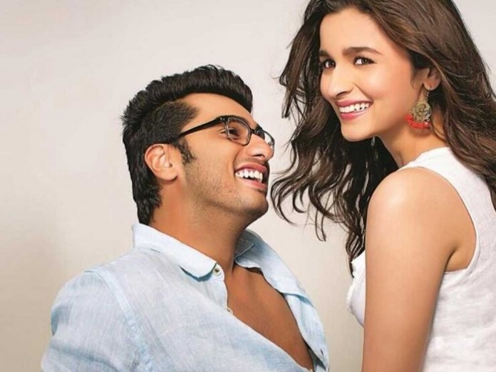 Arjun and Alia in 2 states movie