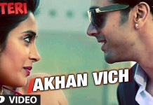 Akhan Vich Video Song from O Teri Movie