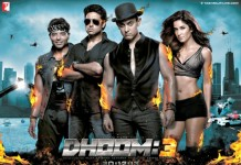 Dhoom 3 first look movie poster