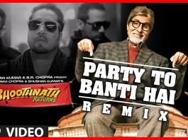 Party To Banti Hai Remix Video - Bhoothnath Returns
