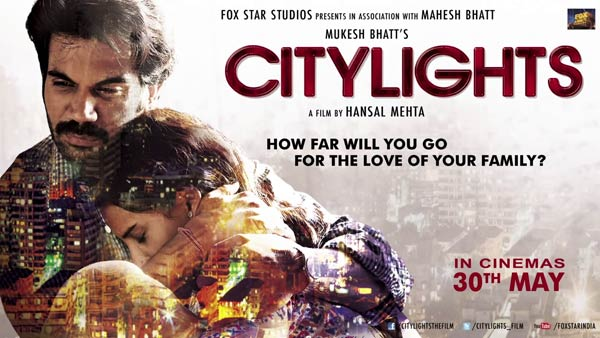 City Lights 2014 Theatrical Trailer featuring Raj Kumar Rao