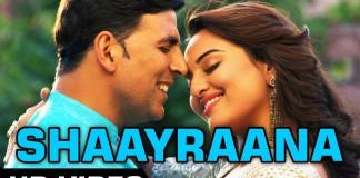 Shaayraana Video Song - Holiday