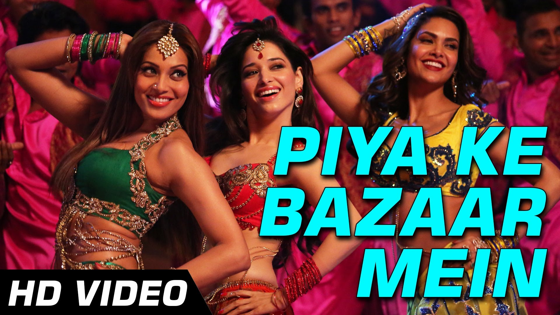 Piya Ke Bazaar Mein Video Song – Hamshakals | Official HD Movie Video Songs