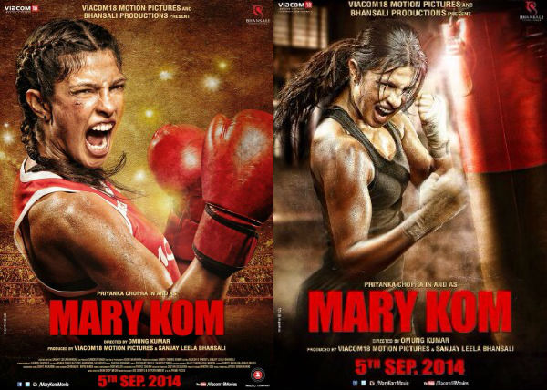 Mary Kom vs Queen vs Mardaani vs Heroine vs Kahaani Box Office comparison