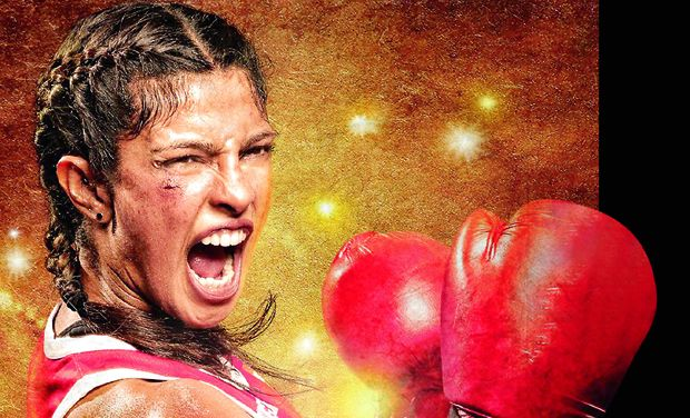'Mary Kom' movie poster starring Priyanka Chopra