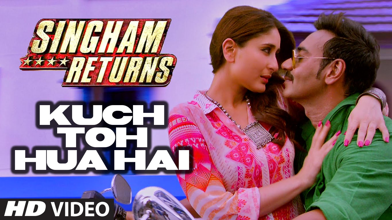 Kuch toh hua hai video song Singham Returns