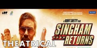 Theatrical trailer of Singham Returns - Ajay Devgn's rowdy act