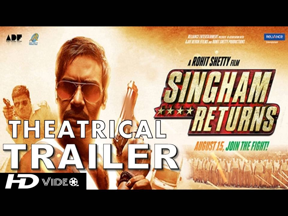 Theatrical Trailer of Singham Returns : Dhamakedaar and Damdaar