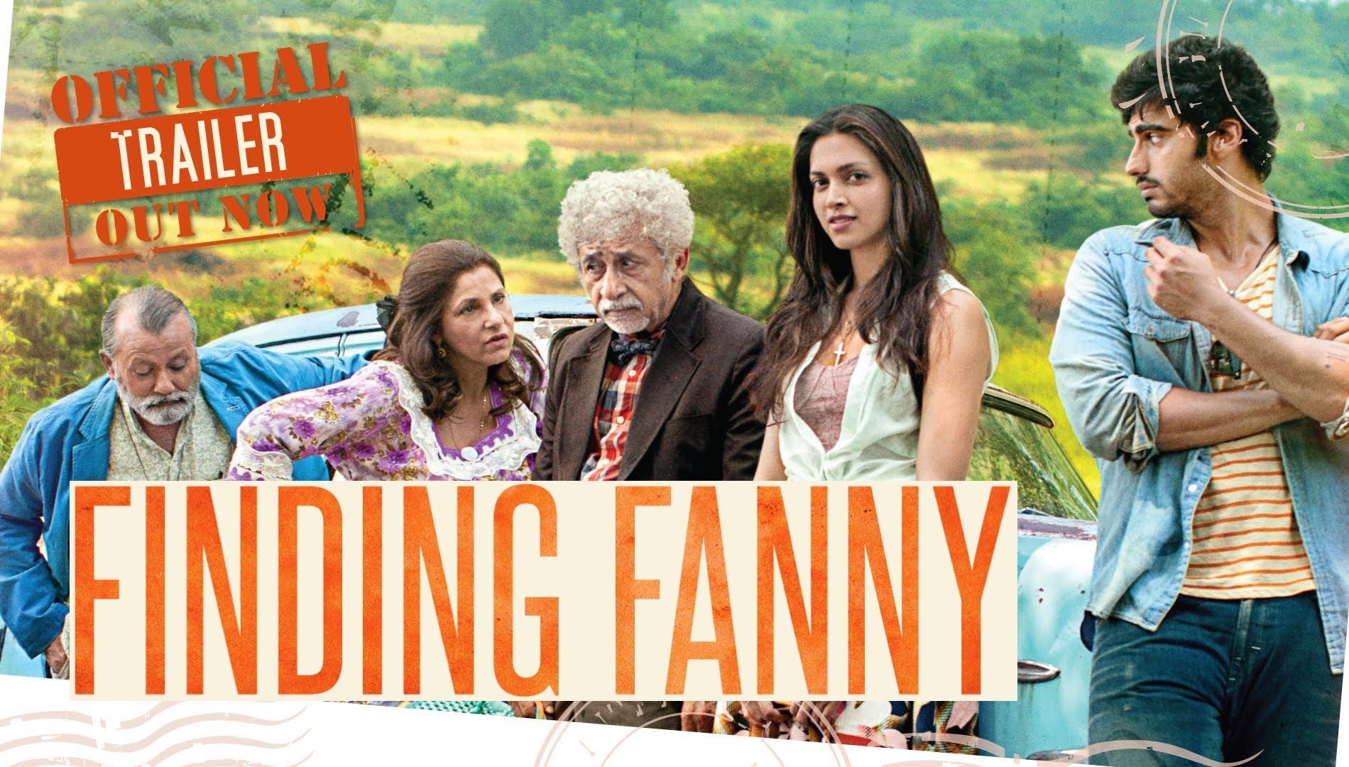 Deepika-Arjun's Finding Fanny Theatrical Trailer