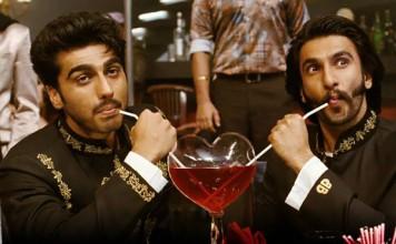 Arjun and Ranveer in Gunday